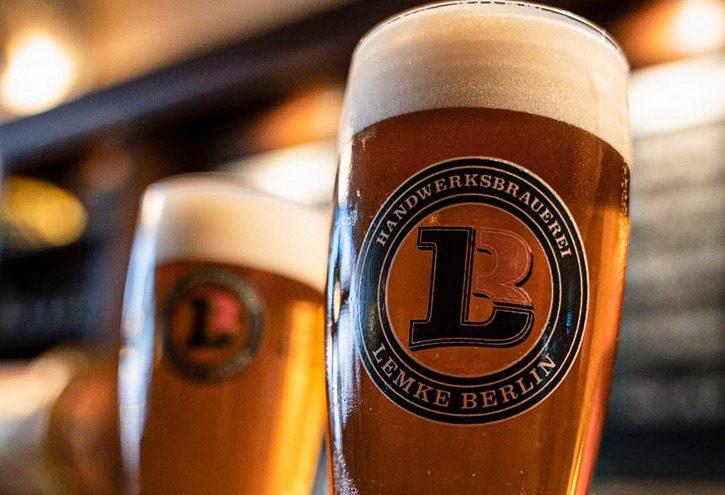 Bierglas mit Lemke-Festbier